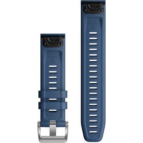 Garmin QuickFit Silikon Uhrarmband 22mm blau
